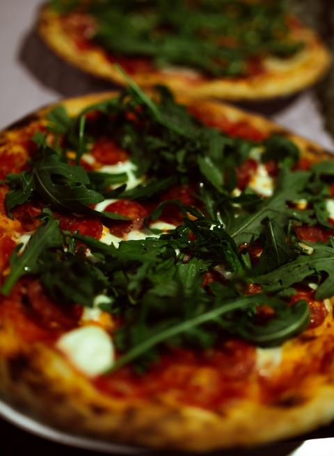 Speisekarte pizza